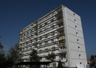 Generální oprava balkonu panelového domu